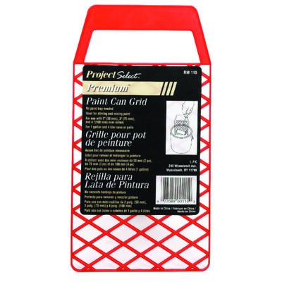 Linzer Plastic Bucket Grid 1 gal. Red
