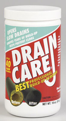Zep Drain Care Powder Build-Up Remover 18 oz.