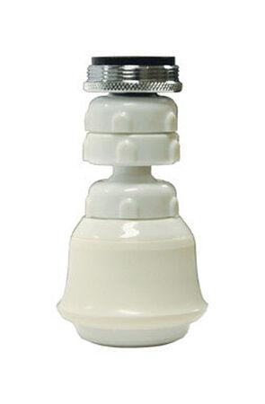 Danco Swivel Sprayrator 15/16in. - 27M or 55/64in. -27F White
