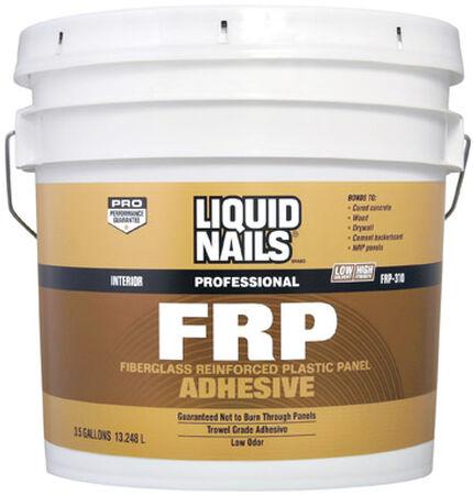 Liquid Nails FRP Fiberglass Reinforced Plastic Panel Adhesive 3.5 gal.