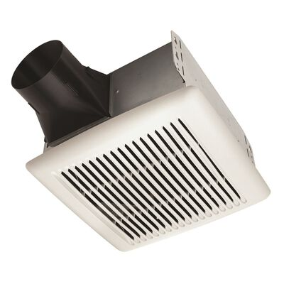 Broan Invent Ventilation Fan Ceiling 9-1/4 in. D x 5-3/4 in. H x 10 in. W