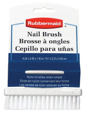 Rubbermaid 4.24 in. W Nail Brush Plastic