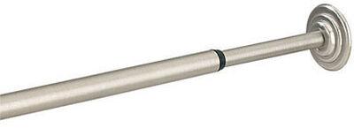 Umbra Coretto Tension Rod 36 in. L Satin Nickel