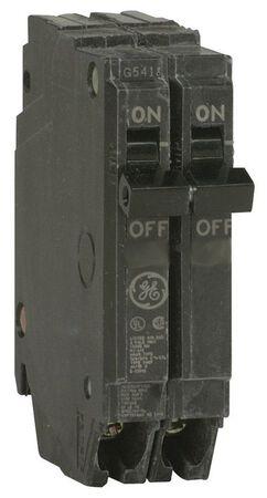 GE Q-Line Double Pole 20 amps Circuit Breaker