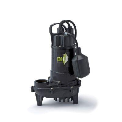 Ecoflo 1/3 hp 3300 gph Cast Iron Submersible Sump Pump