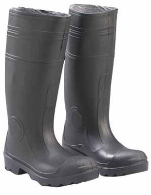 Onguard Black Male Waterproof Boots Size 9
