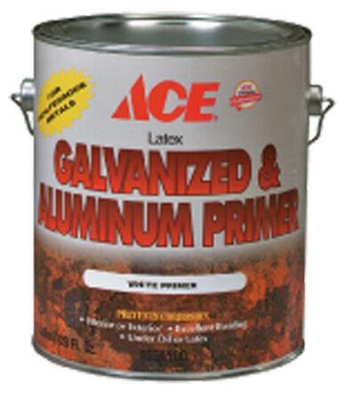 Ace Latex Interior and Exterior Galvanized & Aluminum Primer 1 gal. White
