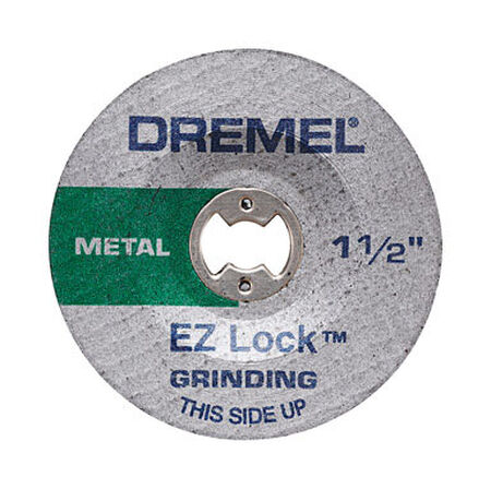 Dremel EZ Lock 1-1/2 in. Dia. x .045 in. thick Metal Grinding Wheel