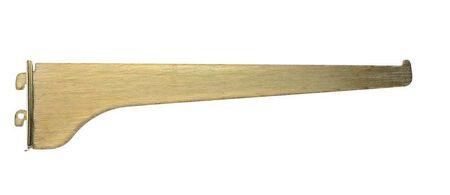 Knape & Vogt Steel Brass 16 Ga. KV 180 Shelf Bracket 12 in. L