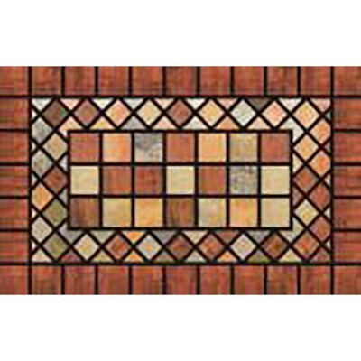Mat Door 18x30 TerraCotta Rubb