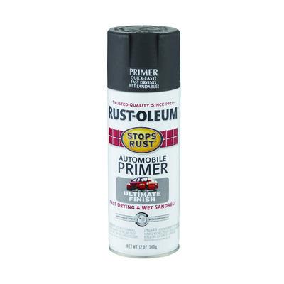 Rust-Oleum Stops Rust Exterior Automobile Primer 12 oz. Dark Grey