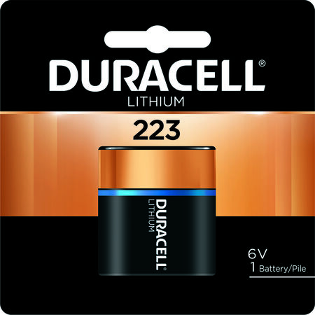 Duracell Ultra Lithium 223 6 volts Camera Battery DL223ABPK