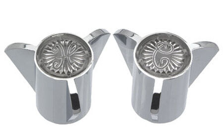 Ace Sayco Metal Metal Hot and Cold Faucet Handles