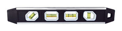 Johnson Aluminum Torpedo Level 12 in. L