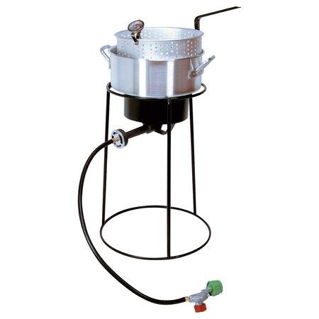 King Kooker 22PKPT 20-Inch Propane Outdoor Cooker with 9-Quart Aluminum Fry Pan