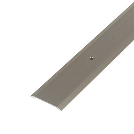 M-D Building Products Flat Top Threshold 1-3/4 in. W x 36 in. L Satin Nickel