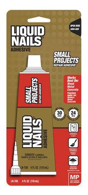 Liquid Nails Small Projects Repair Adhesive 4 oz.