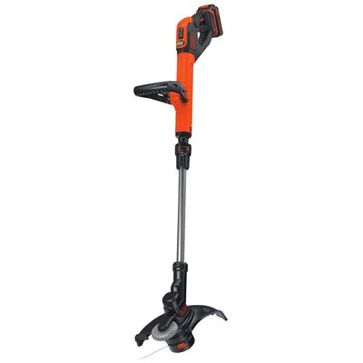 Black+Decker Battery Powered Straight Shaft Cordless Trimmer and Edger 12 in.
