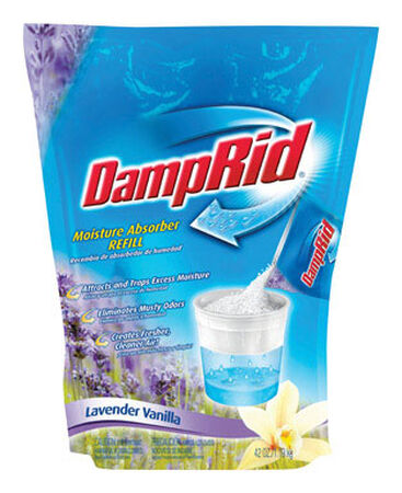 DampRid 42 oz. Lavender Vanilla Scent Moisture Absorber Refill