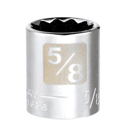 Craftsman 5/8 Alloy Steel Standard Socket 3/8 in. Drive in. drive