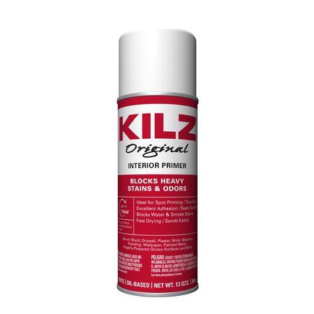KILZ Original White Flat Oil-Based Primer 13 oz.