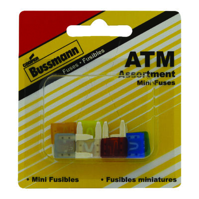 Bussmann 30 amps ATM Automotive Fuse Assortment 8 pk