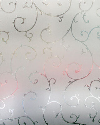 Artscape Etched Lace Window Film 24 in. W x 36 in. L