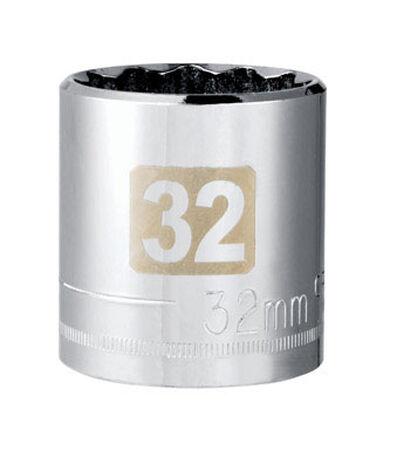 Craftsman 32 Alloy Steel Standard 1/2 in. Drive in. drive Socket