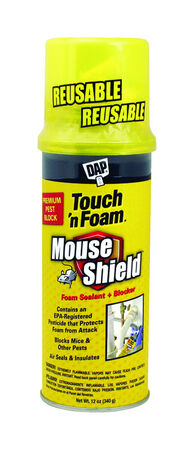 Touch 'n Foam Mouse Shield Cream Polyurethane Foam Foam Sealant 12 oz.