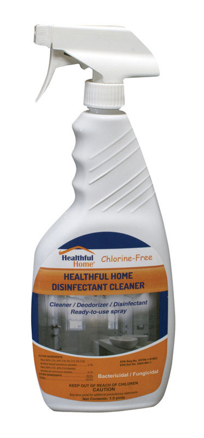 Healthful Home 24 Oz Cleaner And Disinfectant Stine