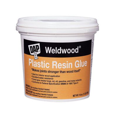 DAP Weldwood Plastic Resin Glue 1 lb.