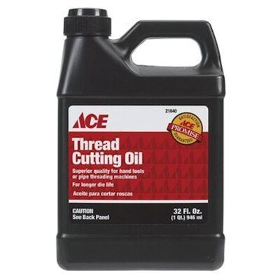 Ace 32 oz. For Use on brass copper aluminum stainless steel iron Thread Cutting Oil