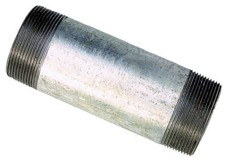 Sigma 1/2 in. Dia. Galvanized Steel Electrical Conduit Nipple IMC