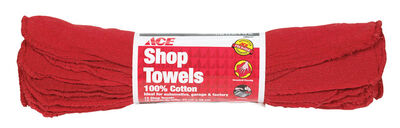 Ace Cotton Shop Towels 13 in. W x 15 in. L 12 pk