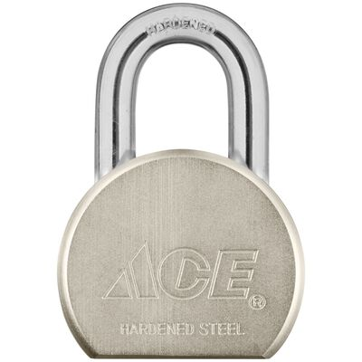 Ace 1-1/8 in. Double Locking Steel Padlock
