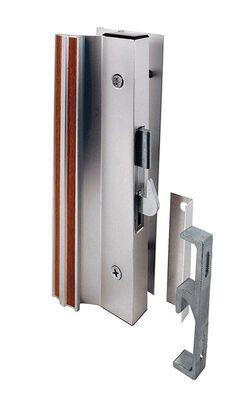 Prime-Line Interior Mount Lock Set 1-1/2 in. Aluminum Aluminum For Patio Doors