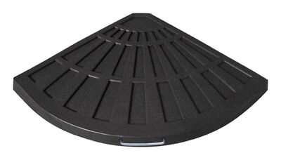 Bond Manufacturing Envirostone Umbrella Base 1.65 in. H x 25.98 in. W Black