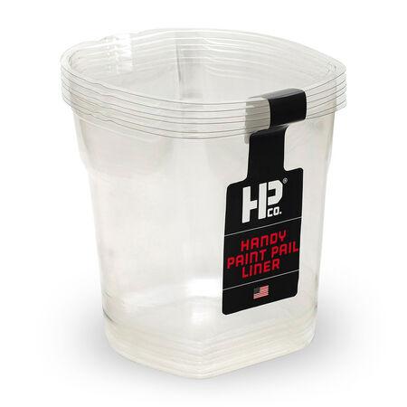 HANDy HANDy Paint Pail Clear 1 qt. Plastic Liner