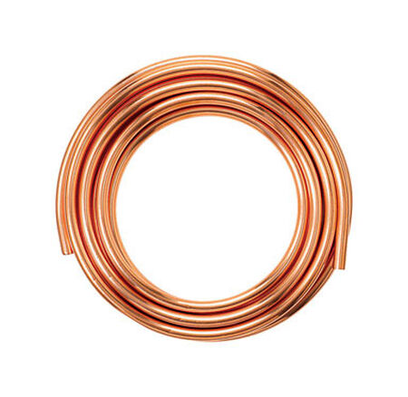 Mueller Copper Refrigeration Tubing Type L 1/2 in. Dia. x 10 ft. L