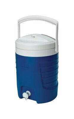 Igloo Sport Beverage Cooler 2 gal. Blue 1 pk