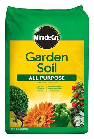 Miracle-Gro All Purpose Garden Soil Fertilizer Enriched 2 cu ft.