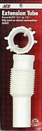 Ace 1-1/4 in. Dia. x 11 in. L Plastic Flexi-Drain Tailpiece