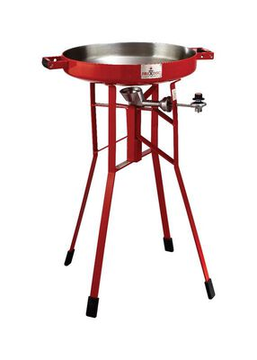 FireDisc Grills Portable Propane Outdoor Cooker Red 36 in. H