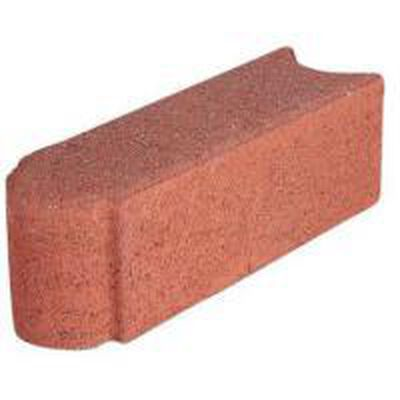 Edgestone River Red concrete edger 12""