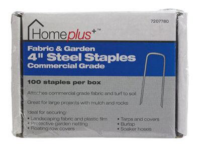 Homeplus+ 4-1/2 in. W Garden Staples