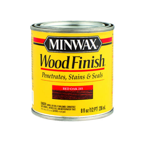 Minwax Wood Finish Semi-Transparent Red Oak Oil-Based Wood Stain 1/2 pt.