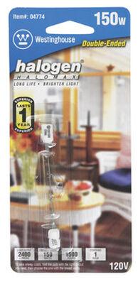 Westinghouse Halogen Light Bulb 150 watts 2600 lumens Double-Ended T3 3.07 in. L White 6 pk