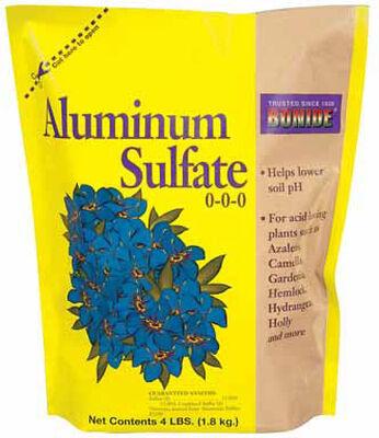 Bonide Aluminum Sulphate 4 lb. Bag