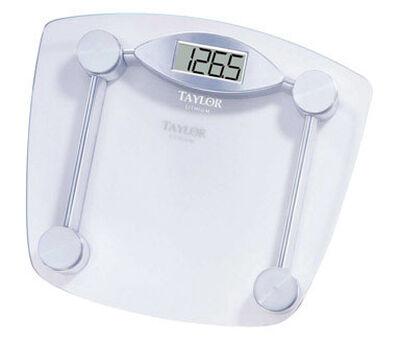 Taylor 330 lb. Digital Bathroom Scale Chrome