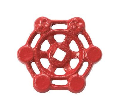 B & K Red Wheel Handle